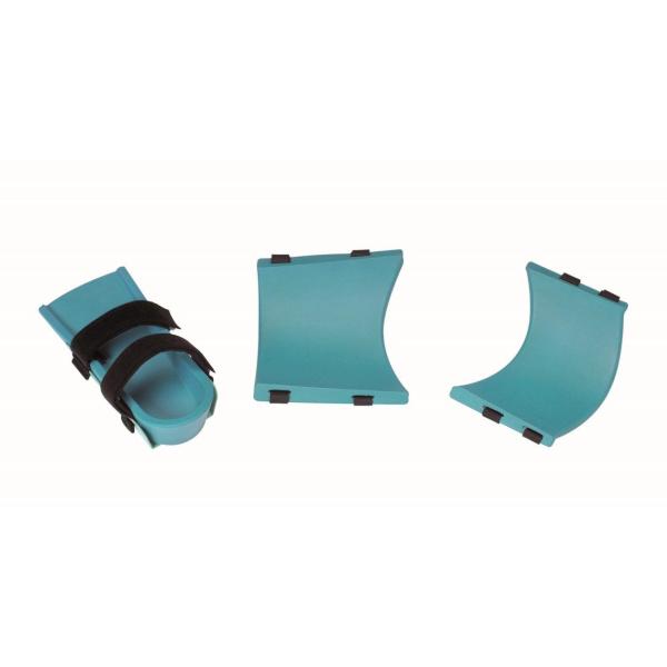 Coques confort compatibles avec les attelles Kinetec® de genou sans clips.