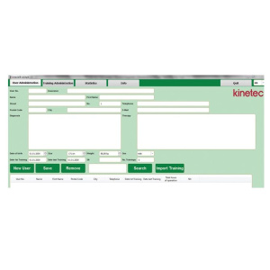 Kinetec Kinevia Cockpit™ - Version du logiciel Pro