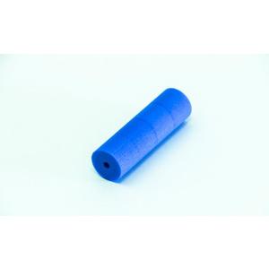 Manchon mousse bleu 30x100mm